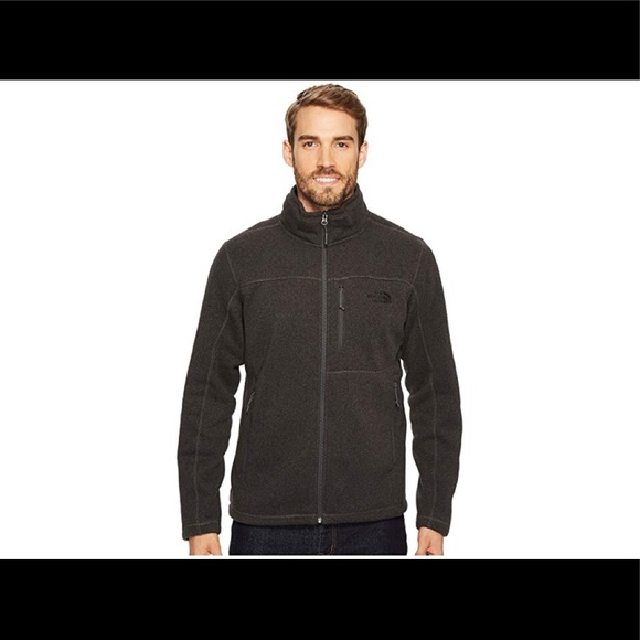 The North Face Other - North Face dark grey men's sweater zip up